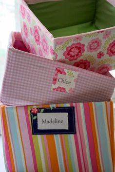 50 Ιδέες για κουτιά και καλάθια ντυμένα με ύφασμα ή χαρτί! | Φτιάξτο μόνος σου - Κατασκευές DIY - Do it yourself