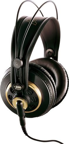 The AKG Studio over-ear, semi-open headphones are designed for professional applications such as mixing, mastering, and playback. Best Studio Headphones, White Headphones, Best Headphones, Stereo Headphones, Wireless Speakers, Semi Open Headphones, Over Ear Headphones, Headphones Tattoo, Beats By Dre