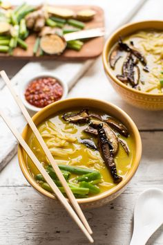 coconut curry ramen just 10 ingredients easy, fast so flavorful and delicious vegan gluten free ramen recipe dinner