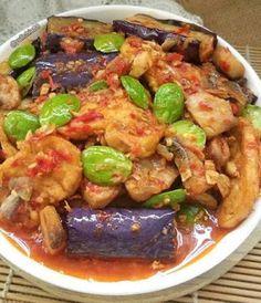 Food Dishes, Main Dishes, Sambal Recipe, Bengali Food, Indonesian Cuisine, Asian Recipes, Ethnic Recipes, Recipe Details, Diy Food