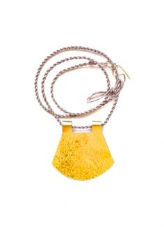 Path Necklace by IS, WAS + WILL BE | Little Paper Planes  $84