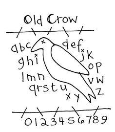 Free Primitive Crow Pattern - Bing Images