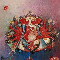 M.  Singh - Mahalaxmi Ganesha