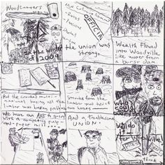 Woodcutters (Part 1) -- 'cutting' social commentary.  To Be Continued.