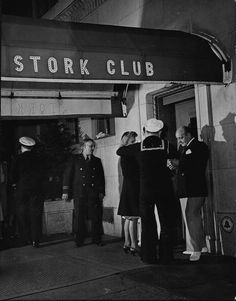 Stork Club entrance