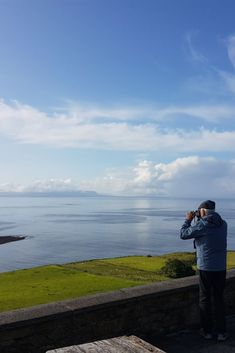 One of our guests capturing a sunny day in Donegal.