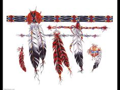 Native American Tattoo Designs | 1862-native-american-feather-tattoo-designs-tattoo-design-1024x768.jpg