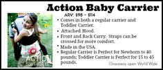 Fall Back into Babywearing – HUGE Giveaway – 18 Winners