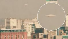 VIDEO: 'UFO' caught hovering over Leeds city centre