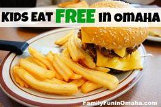 Kids Eat Free or Cheap in Omaha | Family Fun in Omaha