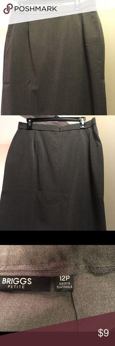 Brand new gray skirt Brand new gray skirt Skirts