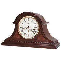 Worn Vintage Print Wood Casing forestfox Garden Saloon Clock Old Style Effect Outdoor