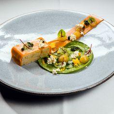 Innovative Gerichte im Restaurant Le Faubourg im Hotel Sofitel | www.cremeguides.com