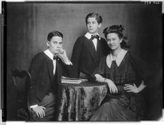 The three children of Archduke Franz Ferdinand and Countess Sophie.