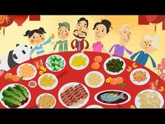 Chinese New Year Story Great Cartoon Video for Little Kids Story time Kids - YouTube