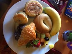 Breakfast options at Epcot