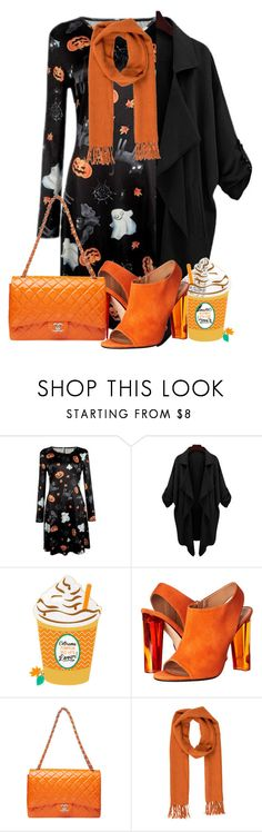 """Untitled #484"" by lizsatt ❤ liked on Polyvore featuring Calvin Klein Collection and Salvatore Ferragamo"