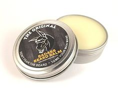 Badass Beard Care Beard Balm For Men  The Original Scent 2 oz  All Natural Ingredients Soften Hair Hydrate Skin to Get Rid of Itch and Dandruff Promote Healthy Growth * Want to know more, click on the image.