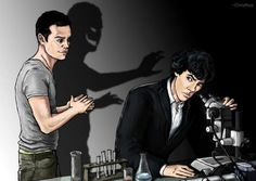 One of my favorite tumblr Sherlock posts:  Remember when we all thought Mycroft was Moriarty.  Remember when we all thought John was Moriarty.  Remember when Moriarty turned out to be that one gay guy.