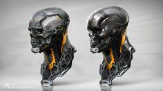 ArtStation - Metal Head 02, jarold Sng