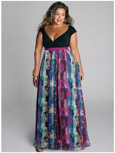 Maxi dress plus size cheap