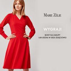 Wygraj zakupy w Marie Zélie i weź udział w sesji zdjęciowej! Classic Fashion, Classic Style, My Style, Capsule Wardrobe, Flower Power, Pin Up, Legs, Motivation, Sewing