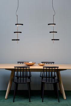 Nenúfar pendant lamp by Joan Gaspar
