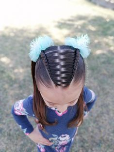 Princess Hairstyles, Little Girl Hairstyles, Hairstyles For School, My Hair, Little Girls, Style Me, Braids, School Hair, United Nations