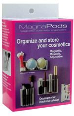 magnapods: MagnaPods Products - website also has the metal sheets for wood and plastic doors.