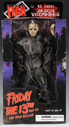Friday the 13th Part VII: The New Blood (1988) - Jason action figure