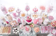This would have to be one of the most beautiful Dessert tables ive seen,wow what a gorgeous Kitchen Tea (Bridal Shower) by Styled By Coco. Bridal Shower Punch, Baby Shower Cake Pops, Tea Party Baby Shower, Baby Party, Vintage Dessert Tables, Dessert Buffet, Candy Buffet, Party Food Bars, Party Food And Drinks