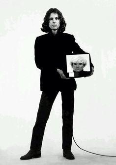 Jim Morrison by Andy Warhol
