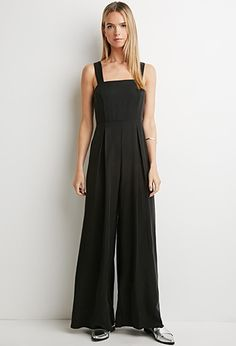 eb40e33aa3b2 Contemporary Pleated Wide-Leg Jumpsuit Overalls
