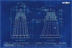 Dalek blue prints