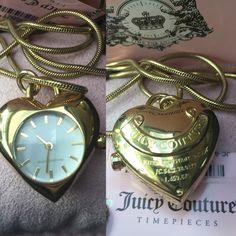 Juicy Couture Watch, Pocket Watch, Watches, Accessories, Fashion, Moda, Wristwatches, Fashion Styles, Clocks