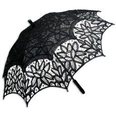 Battenberg Lace Parasol, Black -me wanna wanna wanna. Lace Umbrella, Under My Umbrella, Clear Umbrella, Gossip Girl, Back To Black, Black And White, Historical Emporium, Yves Saint Laurent, Ideas
