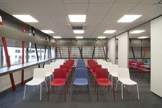 Interior design of training center: THE TRAINING ROOM!