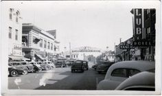 Original Vintage 1940s Photo RENO ARCH Virginia Street Casinos & Clubs + NEVADA