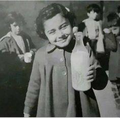 صورة من بَرامج تَغذية المدارس في السبعينات