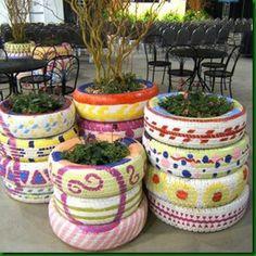 Jardins Reciclados