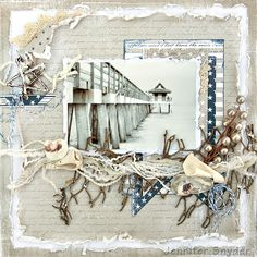 "Jennifer Snyder as Scrap Escape for Maja Designs, ""The Pier"", Jan. 2013"
