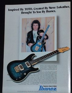 Lukather Ibanez years