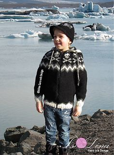 Ravelry: ROBIN Child - Icelandic knitted pattern for children pattern by Lina Olofsson