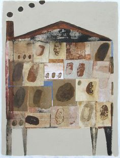 In The House 3 by Scott Bergey on Etsy  #houses #art