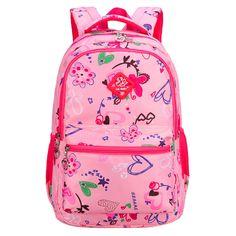 New 2017 Printed Children School Bag Kids Backpack Fashion School Bag  Casual Travel Bags Waterproof Backpacks 82baf4fb22