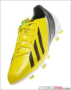 adidas F30 TRX FG Soccer Cleats - Vivid Yellow with Black...$98.99