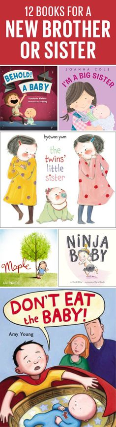 Is there a new baby on the way? Help ease the transition for your older kid with our fave books about siblings.