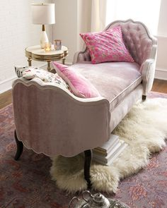 Haute House Pippa Tufted Chaise is part of Haute house - Shop Pippa Tufted Chaise from Haute House at Horchow, where you'll find new lower shipping on hundreds of home furnishings and gifts Shabby Chic Furniture, Shabby Chic Decor, Living Room Furniture, Living Room Decor, Bedroom Decor, Velvet Furniture, Chaise Lounge Bedroom, Velvet Chaise Lounge, Chaise Lounges