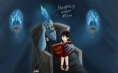 Nico and Hades - 3 by JinGi. Father and son. /// GUYS! Jules-Albert :)