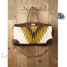 WILL Bags Oaxacan Weekender at Free People Clothing Boutique from Free People. Saved to Bolsas . Style Afro, Sac Week End, Boho Bags, Beautiful Bags, Fashion Bags, Fashion Handbags, Fall Fashion, Designer, Bag Accessories